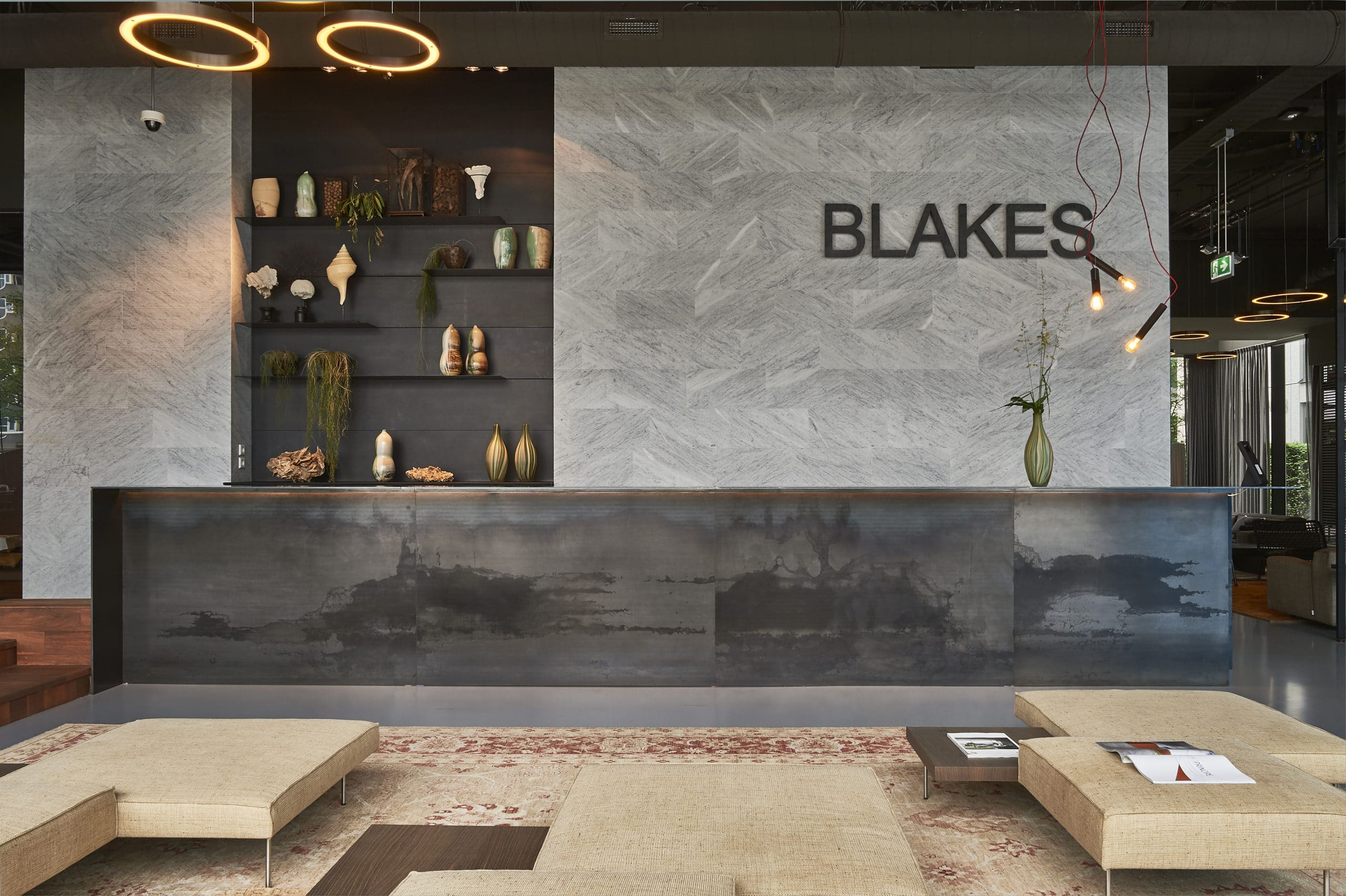 Blakes Lounge reception area