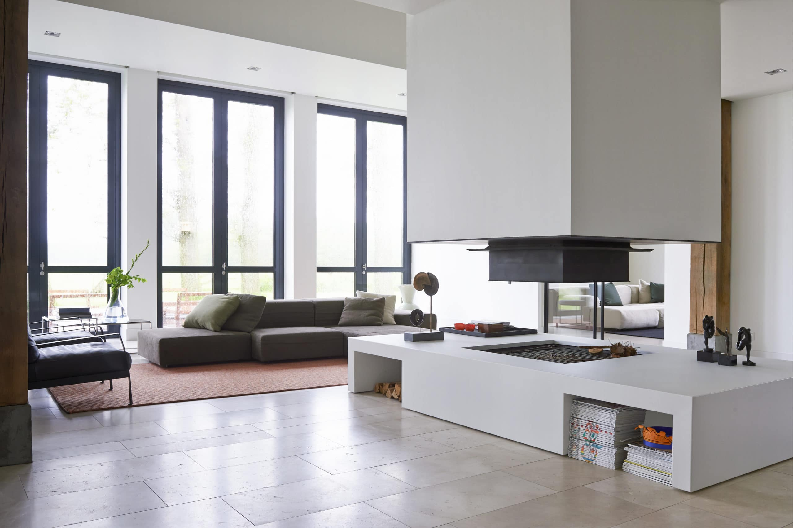 Dis Studio interior design project living room and kitchen family home Drenthe
