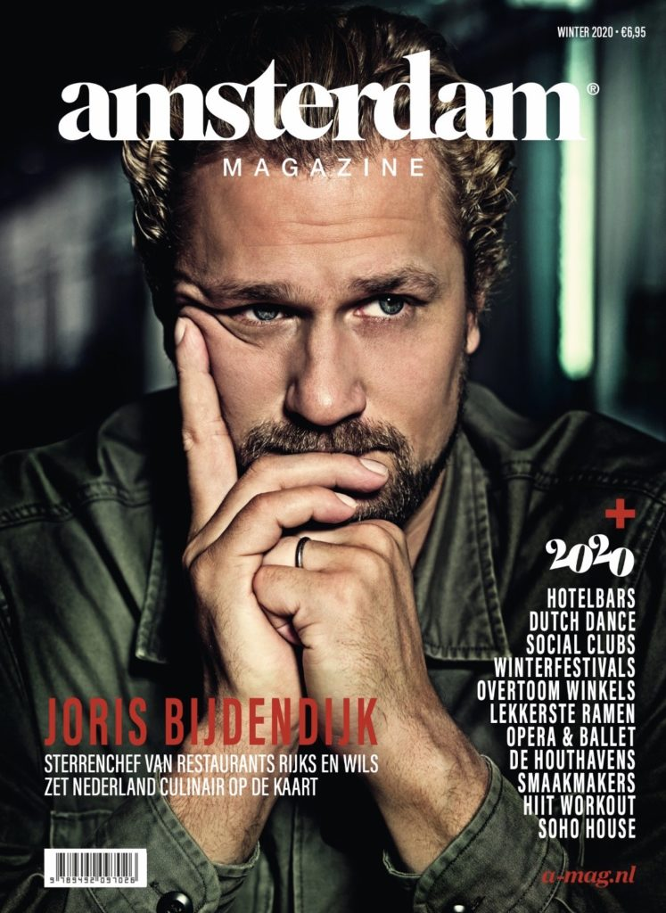 cover of Amsterdam Magazine